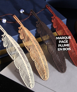 Marque page plume